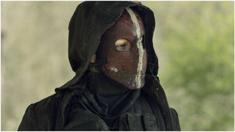 Lynn Collins stars as Leah, as seen in Episode 4 of AMC's The Walking Dead Season 11