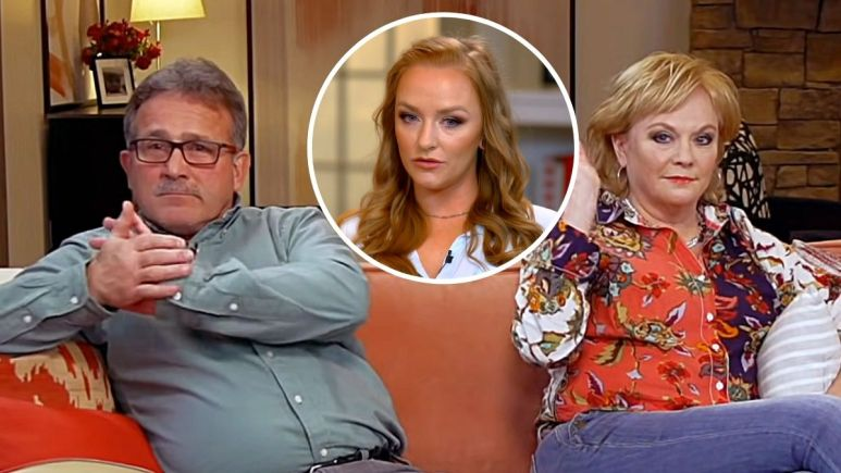 Maci Bookout of Teen Mom OG and Larry and Jen Edwards