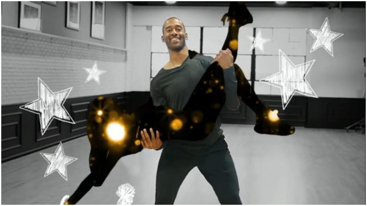 Matt James on Dancing With the Stars