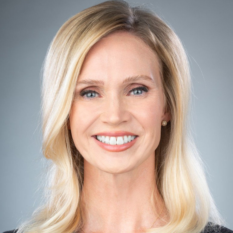 Megan Barbe, who recently joined the staff of Crown Media Family Networks as vice president of consumer insights.