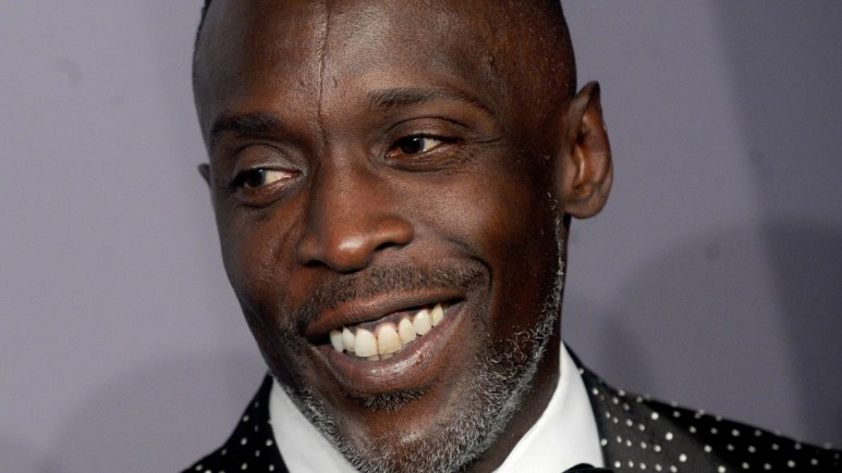 Michael K Williams on the red carpet
