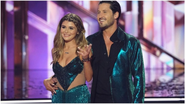 Olivia Jade and Val on DWTS
