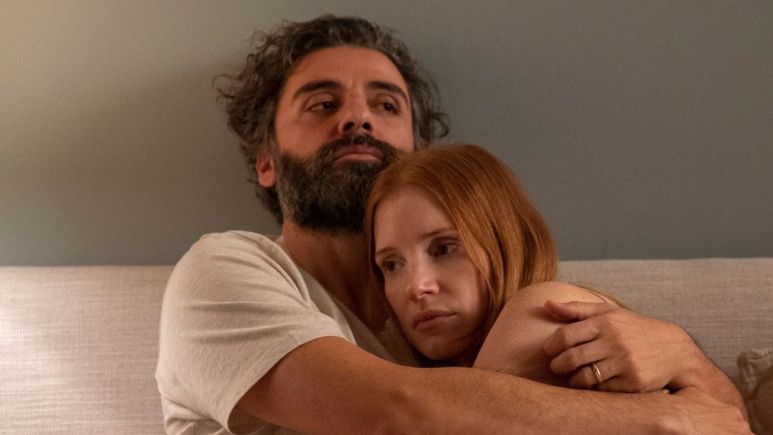 Oscar Isaac and Jessica Chastain star in HBO's Scenes From A Marriage