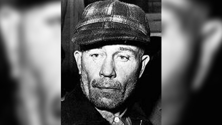 Police pic of Ed Gein