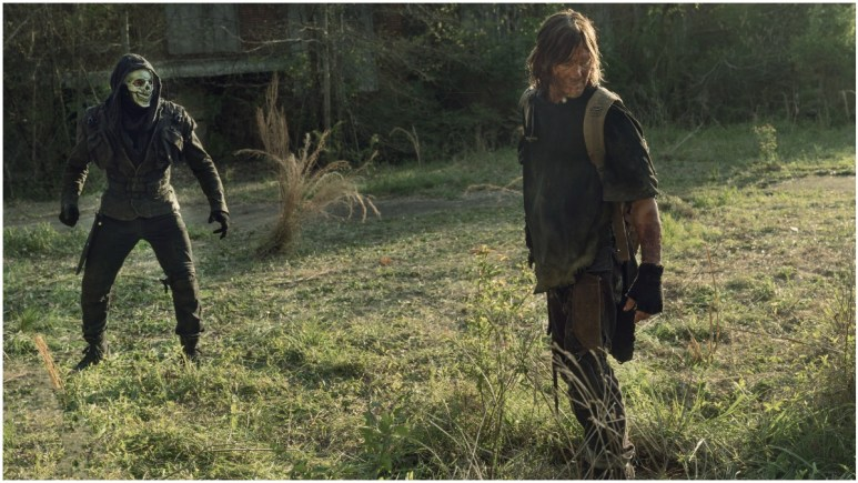 Norman Reedus stars as Daryl Dixon, as seen in Episode 4 of AMC's The Walking Dead Season 11