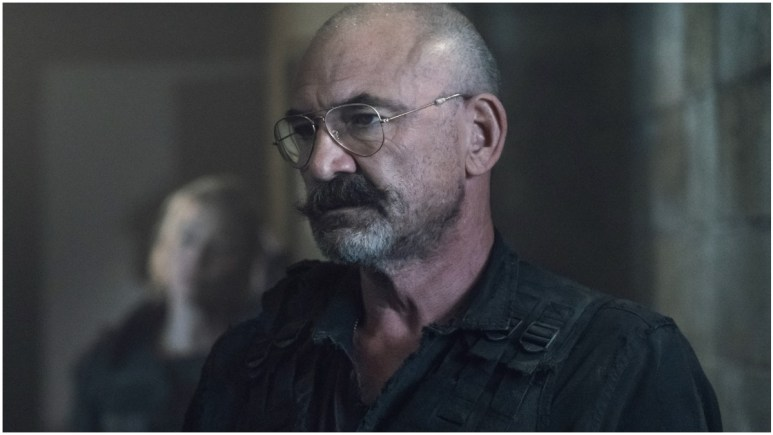 Ritchie Coster stars as Pope, as seen in Episode 6 of AMC's The Walking Dead Season 11