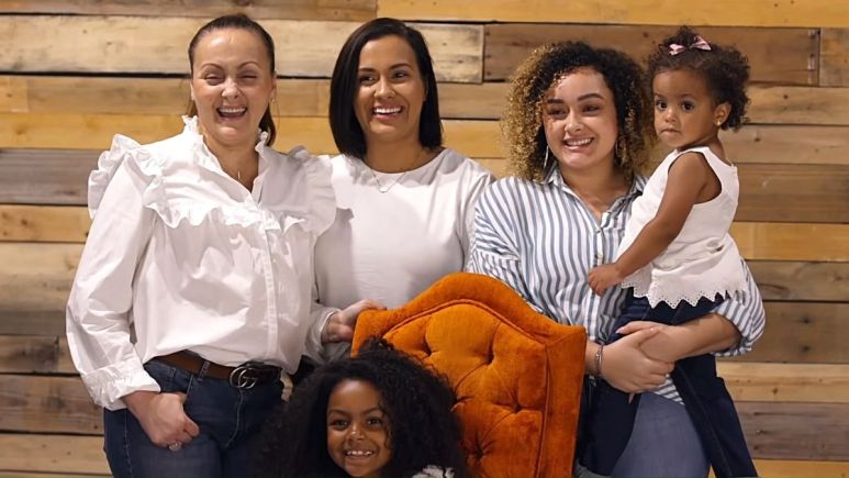 roxanne dejesus with her family from teen mom 2