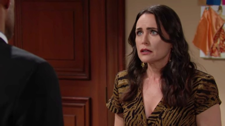 Rena Sofer as Quinn on The Bold and the Beautiful.