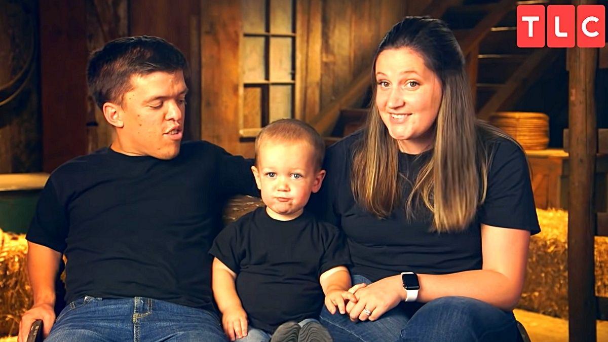 Zach, Jackson and Tori Roloff of LPBW