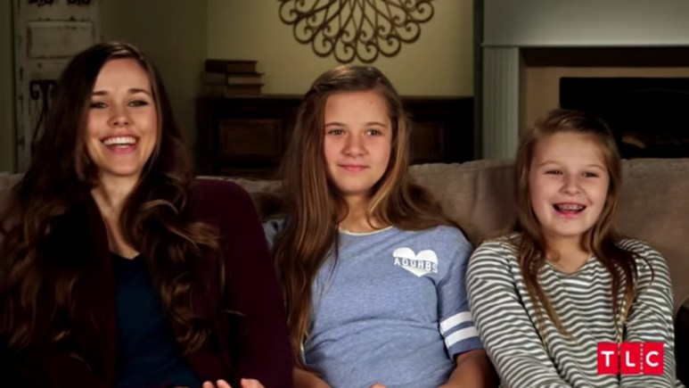 Jessa, Johannah, and Jennifer Duggar.