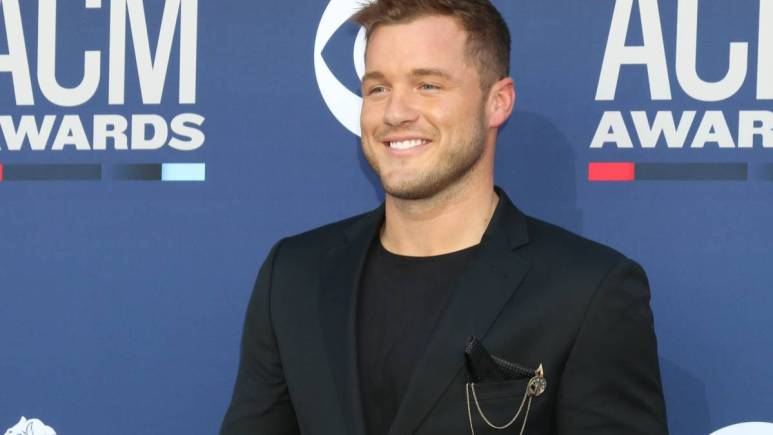 Colton Underwood on the red carpet