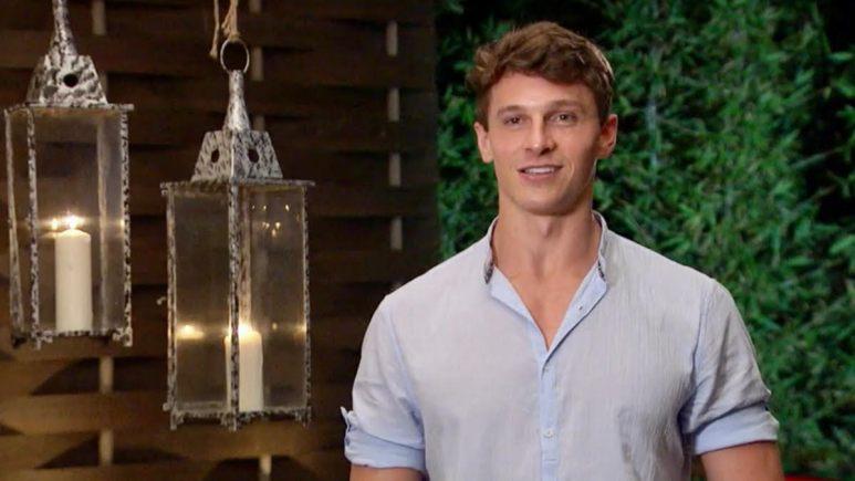 Connor Saeli wears a collared shirt