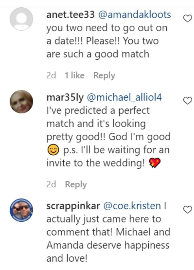 Comments on Michael Allio's Instagram post