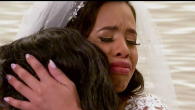 MAFS Michaela cries pre wedding