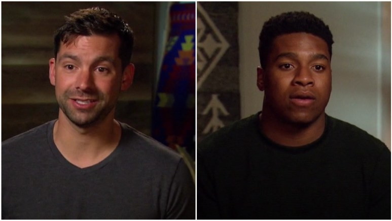 Michael Allio and Andrew Spencer on The Bachelorette