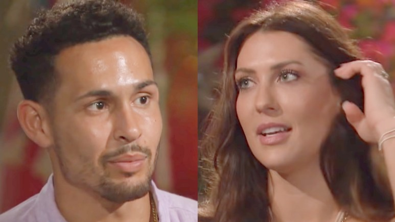 Thomas Jacobs and Becca Kufrin on Bachelor in Paradise