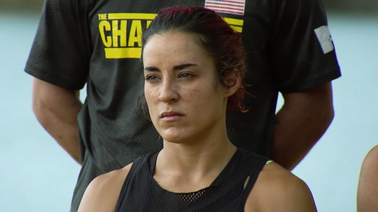 cara maria sorbello during the challenge war of the worlds 2