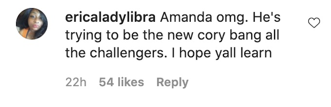 the challenge fans comment on fessy and amanda on vacation