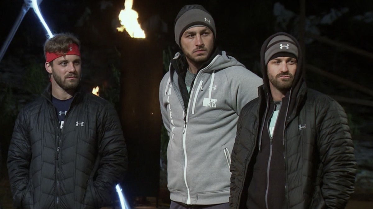 paulie calafiore tony raine and johnny bananas the challenge final reckoning