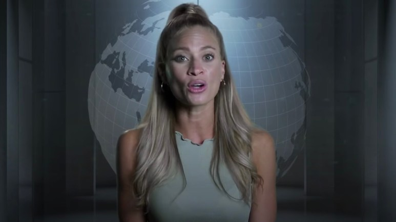Amber Borzotra during the challenge season 37 confessional