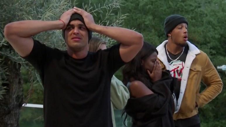 josh martinez big t fazakerley and jeremiah white react to the challenge star getting kicked off season 37