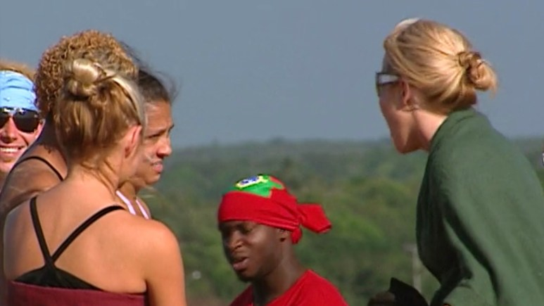 tina barta and beth stolarczyk incident from the challenge duel season