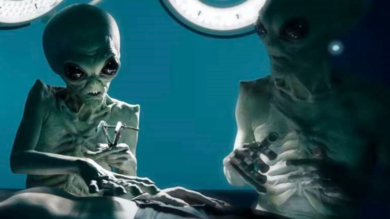 Aliens feature in FX's American Horror Story: Double Feature