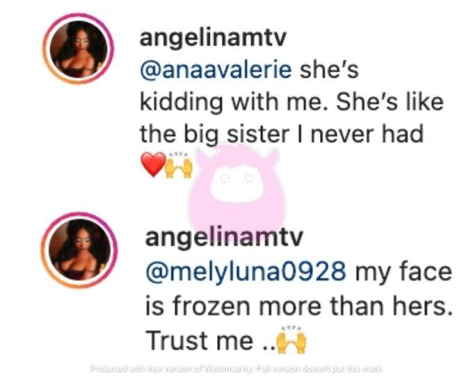 Angelina defends JWoww