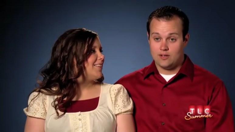 Josh and Anna Duggar.