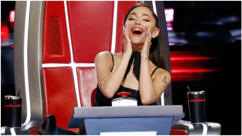 Ariana Grande on The Voice
