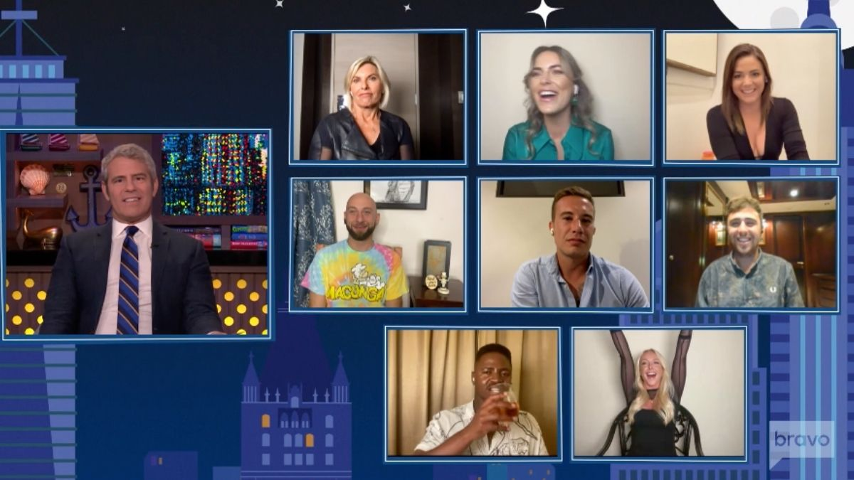 See what goes down int he first few minutes of the Below Deck Mediterranean Season 6 reunion show.