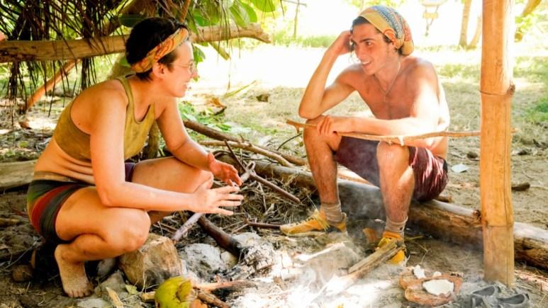 Evvie And Xander On Survivor 41