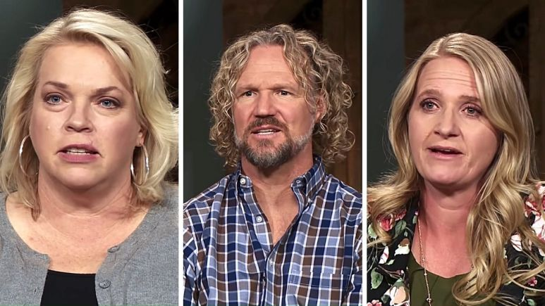 Janelle, Kody, and Christine Brown of Sister Wives