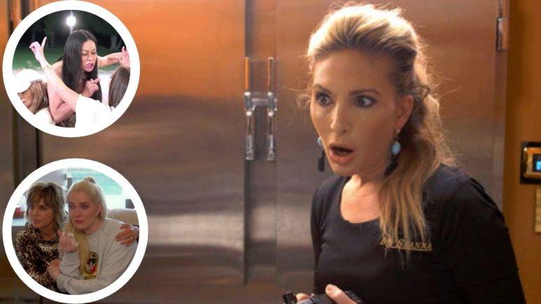 Below Deck alum Kate Chastain talks latest Real Housewives feuds.
