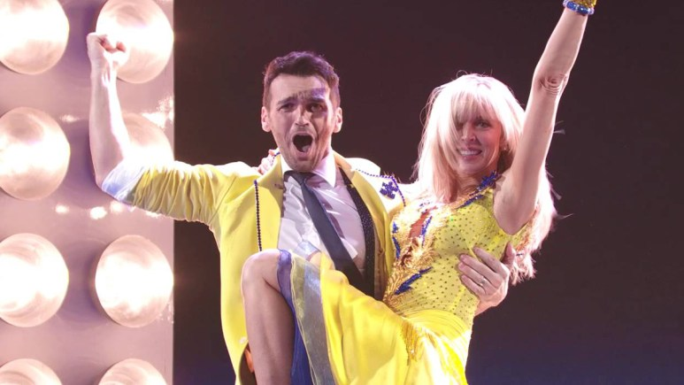 Marla Maples on Dancing With the Stars