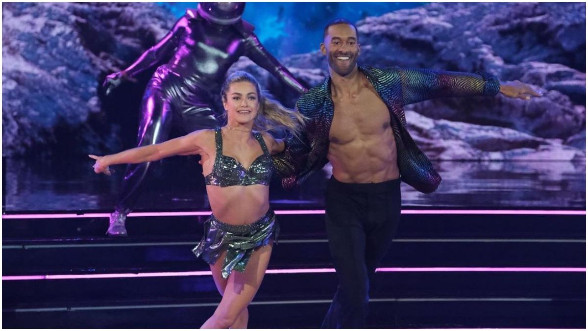 Matt James and Lindsay Arnold on Dancing With the Stars
