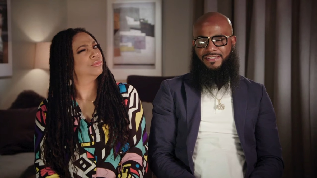 Monie Love and Tuff on Marriage Boot Camp Hip Hop Edition