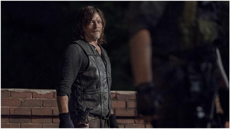 Norman Reedus stars as Daryl Dixon in Episode 8 of AMC's The Walking Dead Season 11