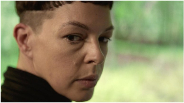 Pollyanna McIntosh as Jadis, as she appeared in the Season 2 trailer for AMC's The Walking Dead: World Beyond