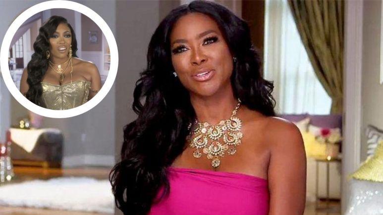 What does Kenya Moore think of Porsha Williams leaving RHOA?