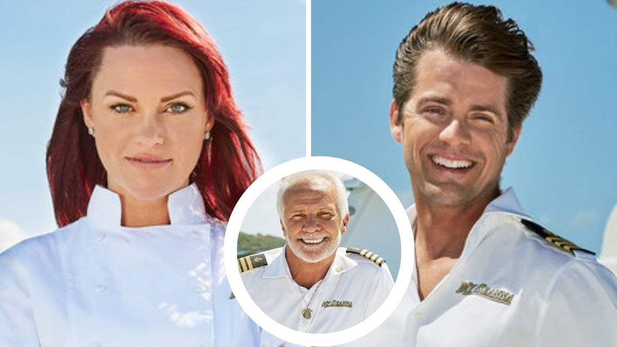 What do Rachel Hargrove and Eddie Lucas think of Captain Lee Rosbach's absence from Below Deck?