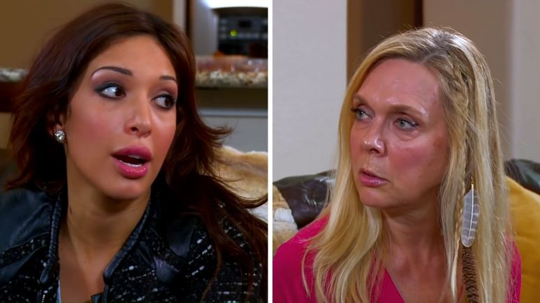 Teen Mom OG alum Farrah Abraham and Debra Danielsen