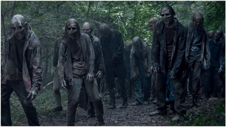 Walkers from Episode 8 of AMC's The Walking Dead Season 11