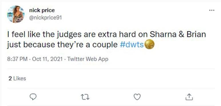 sharna and brian tweet 1