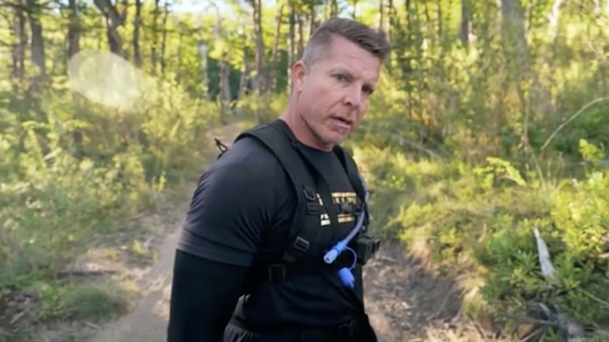 mark long in the challenge 500 promo video