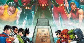 Titans Hunt von Dan Abnett, Geraldo Borges und Paulo Siqueira Comickritik
