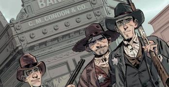 Die Daltons Band 1 Der erste Tote von Olivier Visonneau und Jesús Alonso Comickritik