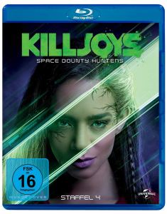 Killjoys Space Bounty Hunter Staffel 4 Blu-ray Kritik