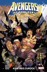 Avengers No Road Home Kein Weg zurück von Al Ewing, Mark Waid, Jim Zub, Carlo Barberi, Sean Izaakse und Paco Medina Comickritik