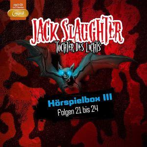 Jack Slaughter Tochter des Lichts Hörspielbox III Folge 21 bis 24 Hörspielkritik